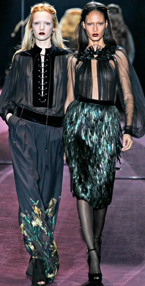 Gucci Fall Winter 2012 2013 darkly romantic