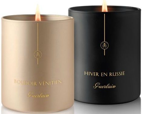 Guerlain Candles. Light Up Your Fashion!