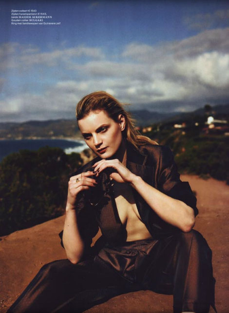 Guinevere van Seenus Vogue Netherland June 2012 pictorial