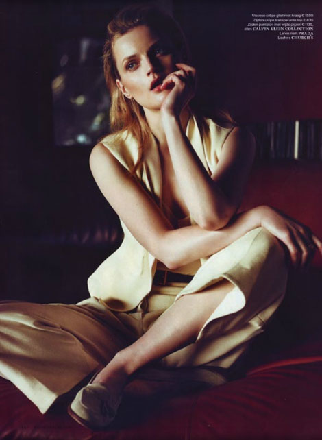 Guinevere Van Seenus Does Vogue Netherlands June 2012