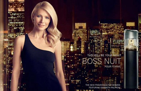 Gwyneth Paltrow's Ad For Boss Nuit Perfume Weirder Than Blake's Gucci?