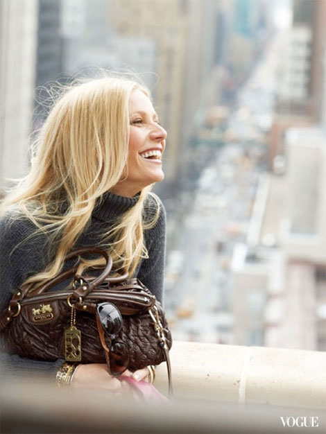 Gwyneth Paltrow Coach Fall Winter 2011 2012 ad campaign