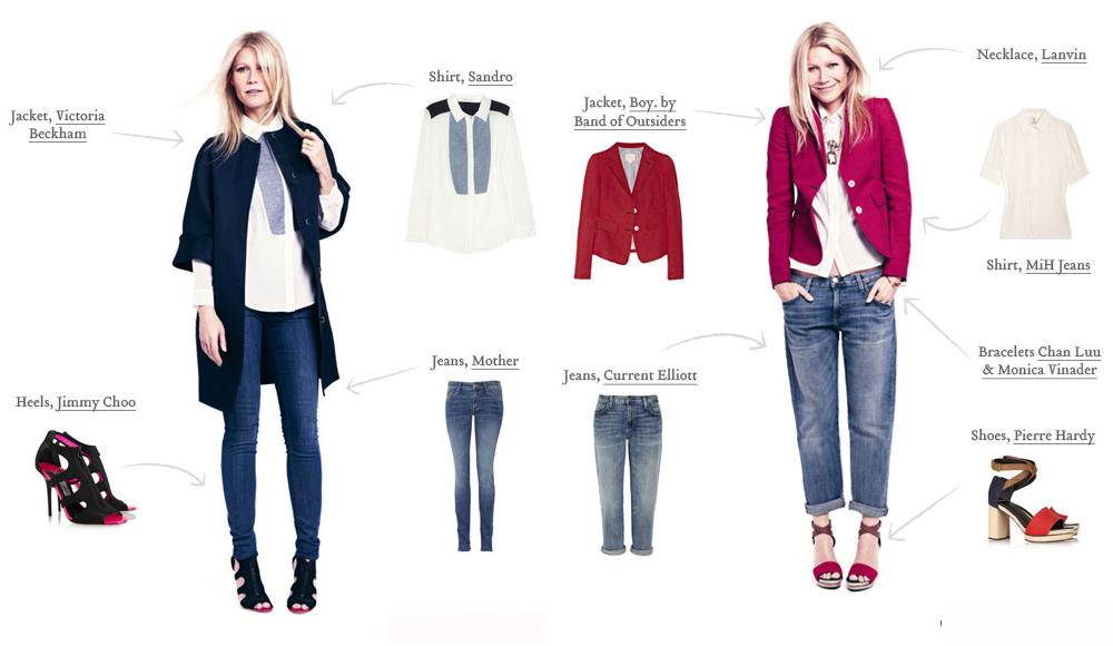Gwyneth Paltrow must have jeans