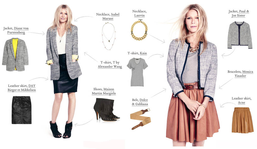 Gwyneth Paltrow must have skirts