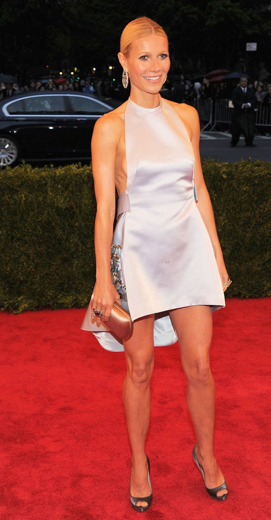 Gwyneth Paltrow revealing dress Met Gala 2012