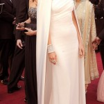 Gwyneth Paltrow white dress 2012 Oscars Red Carpet