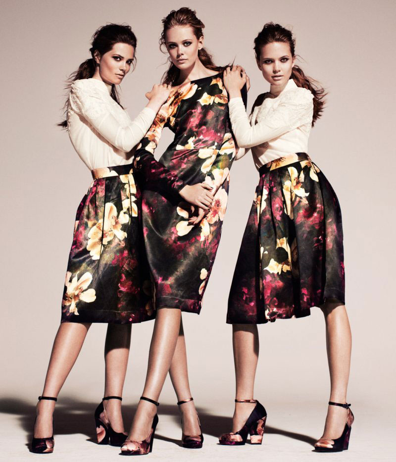 h and m fall 2011 conscious collection campaign