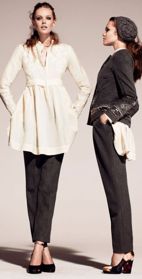 H and M fall 2011