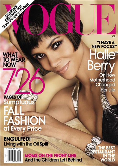 Halle Berry Vogue September 2010 cover