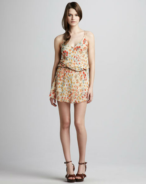 Haute Hippie printed dress