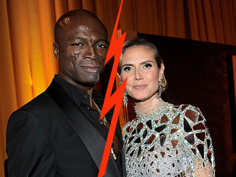 Heidi Klum and Seal divorcing