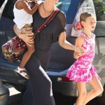 Heidi Klum s daughters wear same lipstick as their mother