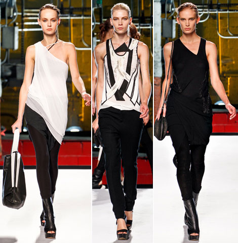 Helmut Lang Spring Summer 2012 Collection