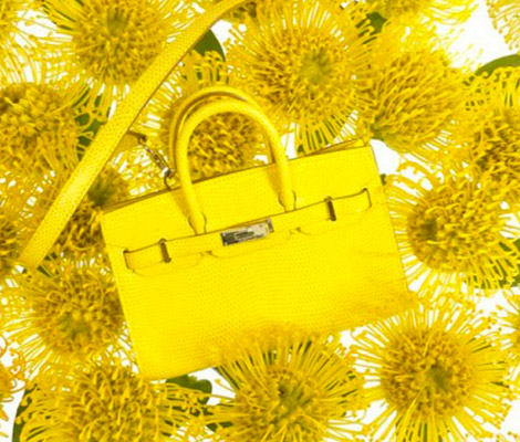 Hermes Birkin Yellow Mini