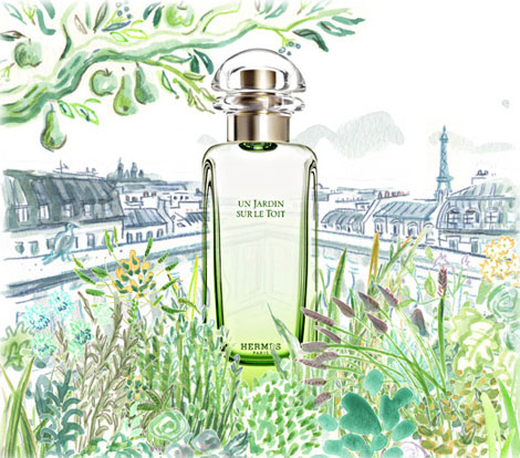 Hermes Un Jardin Sur Le Toit Perfume