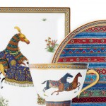 Hermes Beautiful plates Cheval d Orient