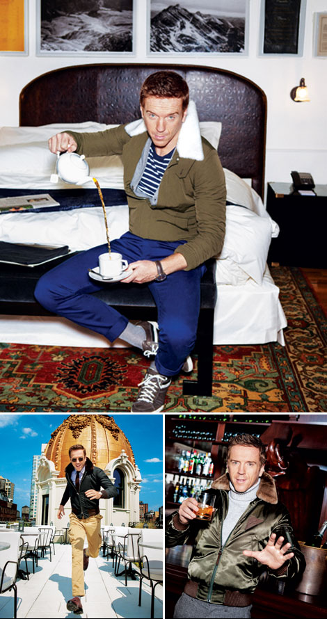 Homeland's Damian Lewis Style – Profiled In GQ Magazine