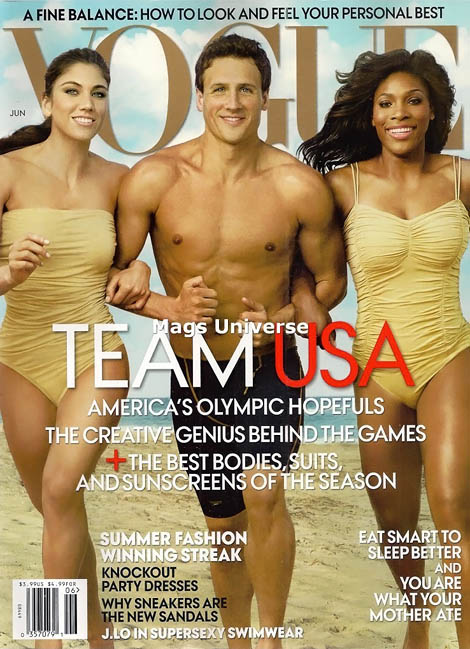 Hope Ryan Serena Olympic cover Vogue US June 2012