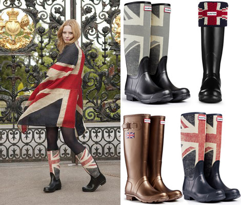 Hunter Boots Union Jack special edition