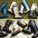 Hunter wellies rubber boots