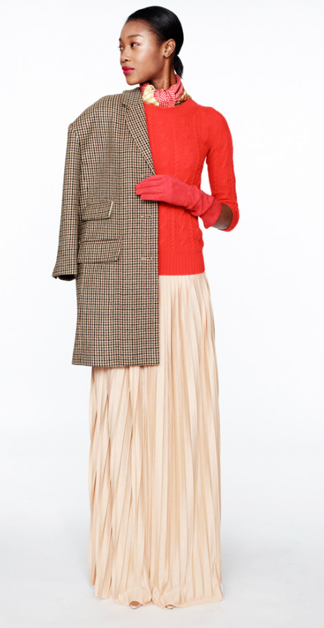 J Crew Fall Winter 2012 2013 red