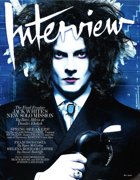 Jack White Interview May 2012 cover