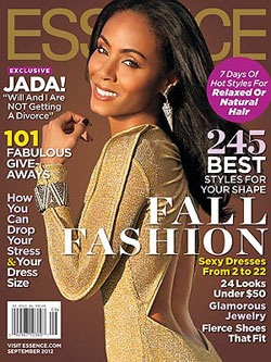 Jada Pinkett Smith covers Essence September 2012