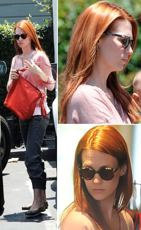 How Do You Like January Jones New Hairdo?