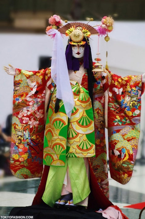 Japanese Fairy Tale Fashion Kimono Princess