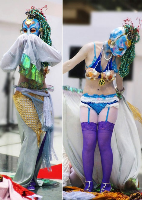 Japanese Fairy Tale Fashion Little Mermaid