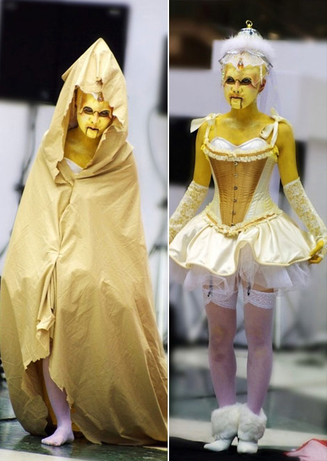Japanese Fairy Tale Fashion Robot Princess
