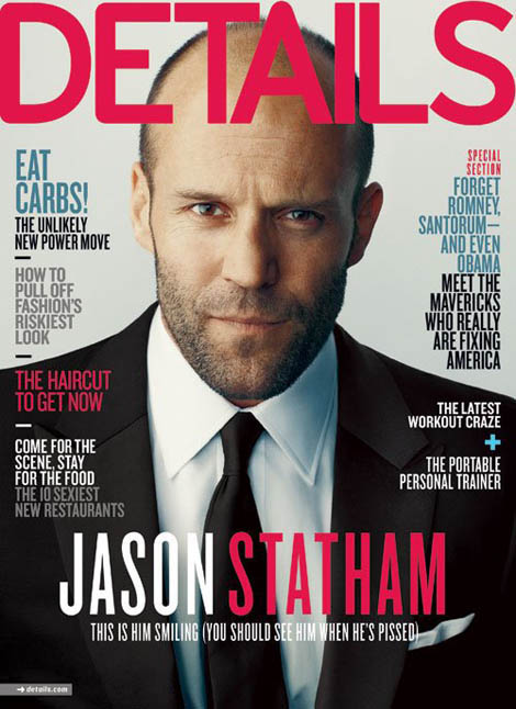 Jason Statham Details April 2012 cover