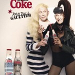 Jean Paul Gaultier Diet Coke bottles campaign