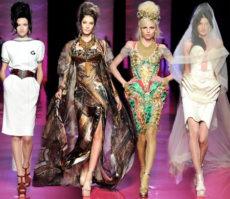 Jean Paul Gaultier couture spring 2012 collection