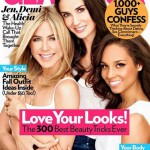 Jennifer Aniston Demi Moore Alicia Keys Glamour cover October 2011