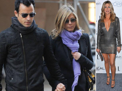 Jennifer Aniston with baby bump