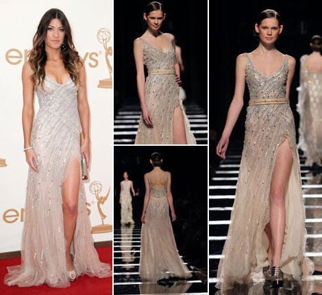 Jennifer Carpenter looking gorgeous in Tony Ward couture dress