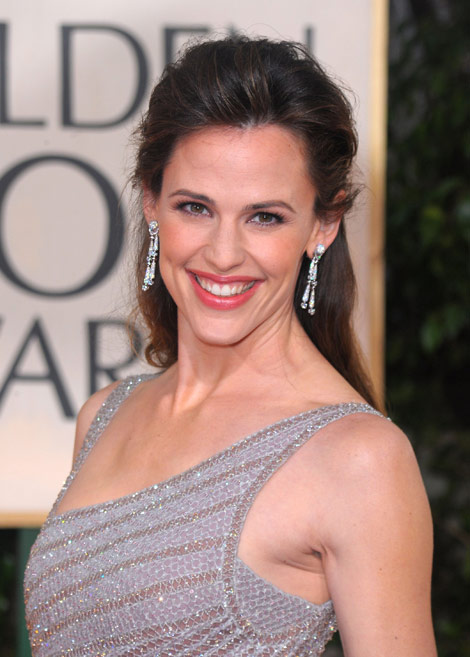 Jennifer Garner Versace dress Golden Globes 2010
