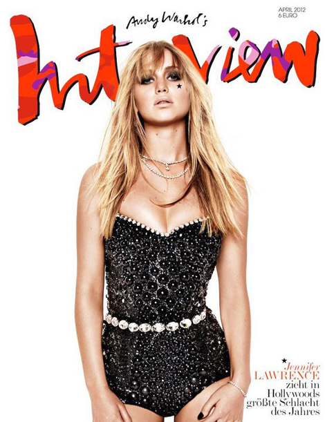 Jennifer Lawrence Interview Germany cover April 2012