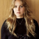 Jennifer Lawrence Vogue UK November 2012 hairdo