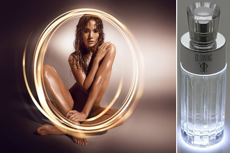 Jennifer Lopez Launched New Perfume, Glowing