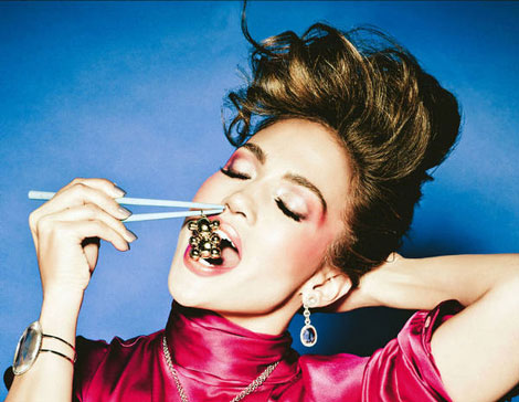 Jennifer Lopez Ads For Tous Jewerly Spring 2011 By Ellen Von Unwerth