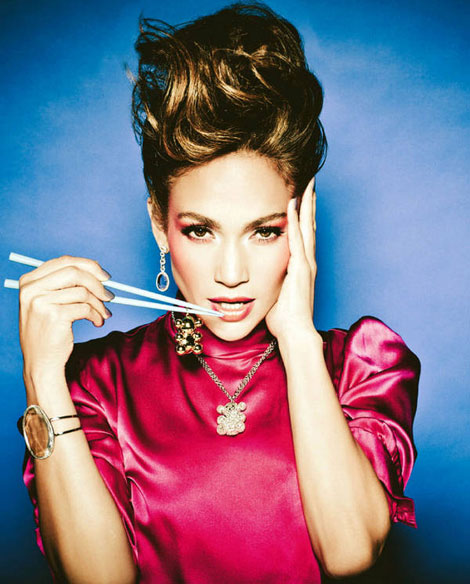 Jennifer Lopez Tous jewelry spring 2011 ad campaign