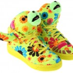Jeremy Scott Adidas Bear sneakers
