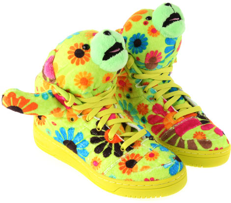 Jeremy Scott Adidas JS Bear Sneakers Ready For Hugging