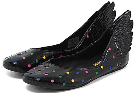 Jeremy Scott Adidas Winged Ballerinas dots
