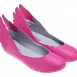 Jeremy Scott Adidas Winged Ballerinas pink
