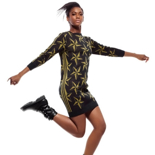 Jeremy Scott Adidas dress