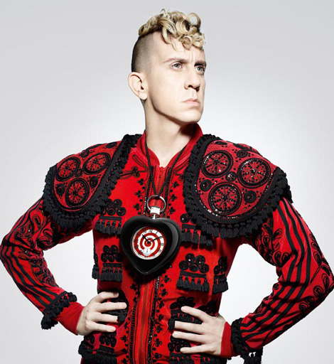 Jeremy Scott presenting his Swatch collection