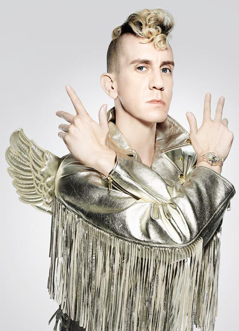 Jeremy Scott winged jacket Swatch watch